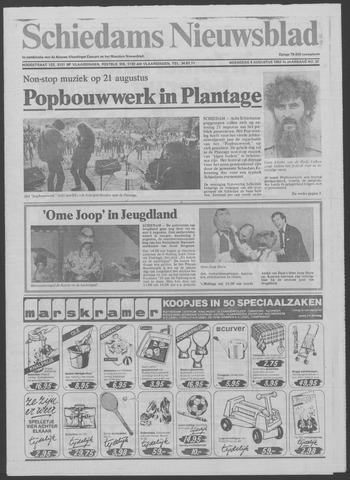 Schiedams Nieuwsblad 1982-08-04