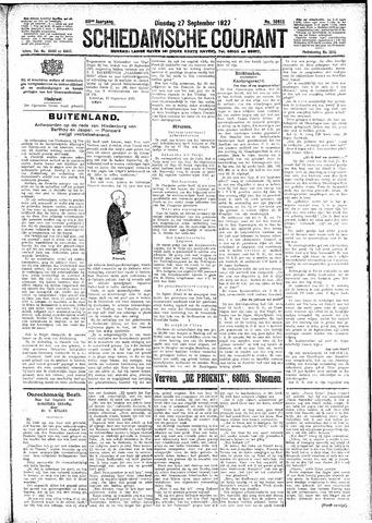 Schiedamsche Courant 1927-09-27