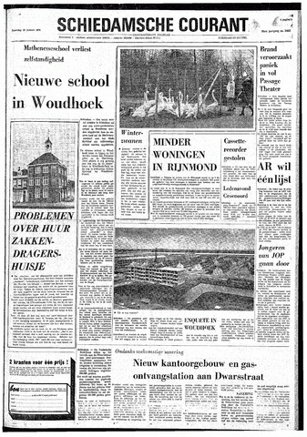 Rotterdamsch Nieuwsblad / Schiedamsche Courant / Rotterdams Dagblad / Waterweg / Algemeen Dagblad 1974-01-19
