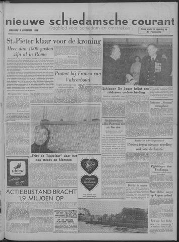 Nieuwe Schiedamsche Courant 1958-11-03