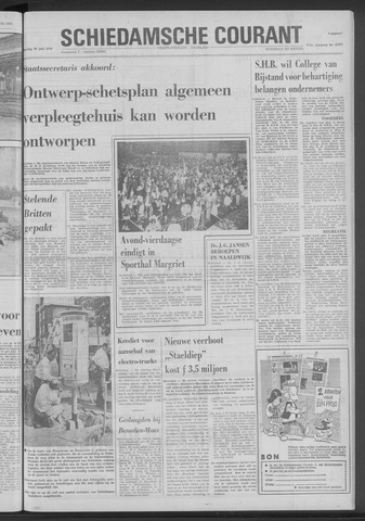 Rotterdamsch Nieuwsblad / Schiedamsche Courant / Rotterdams Dagblad / Waterweg / Algemeen Dagblad 1970-06-20