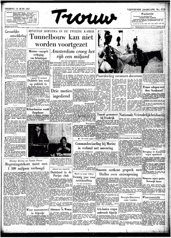 Trouw / De Rotterdammer 1957-06-14