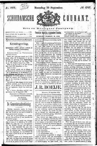 Schiedamsche Courant 1879-09-29