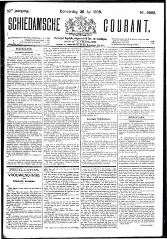 Schiedamsche Courant 1898-07-28