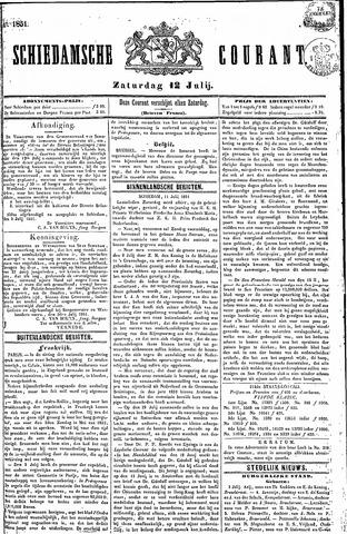 Schiedamsche Courant 1851-07-12