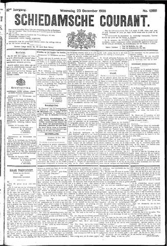 Schiedamsche Courant 1908-12-23