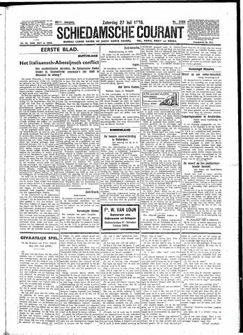 Schiedamsche Courant 1935-07-27