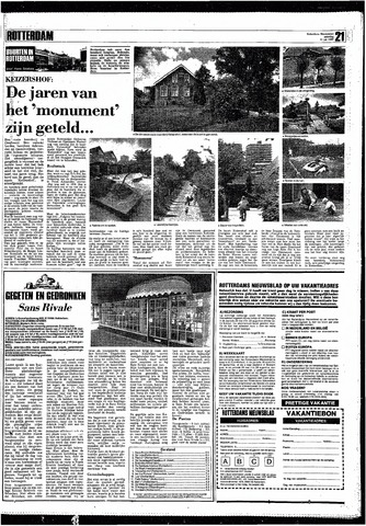 Rotterdamsch Nieuwsblad / Schiedamsche Courant / Rotterdams Dagblad / Waterweg / Algemeen Dagblad 1987-07-11
