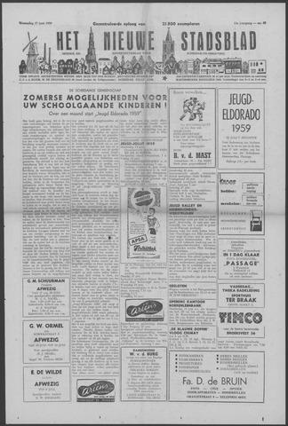 Het Nieuwe Stadsblad 1959-06-17