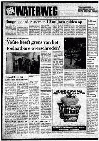 Rotterdamsch Nieuwsblad / Schiedamsche Courant / Rotterdams Dagblad / Waterweg / Algemeen Dagblad 1987-10-14