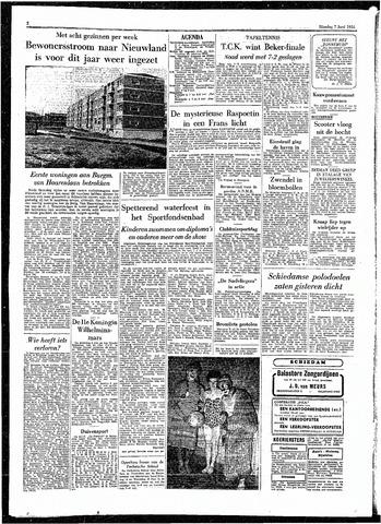 Rotterdamsch Parool / De Schiedammer 1955-06-07