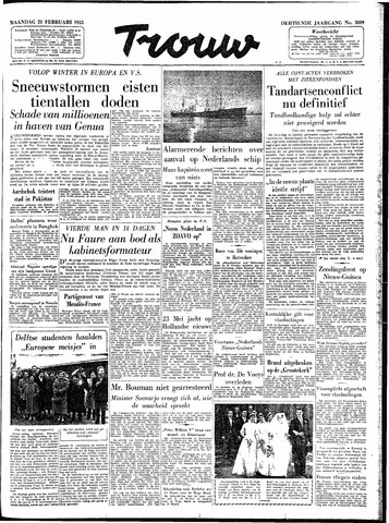 Trouw / De Rotterdammer 1955-02-21