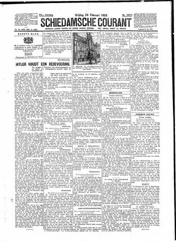 Schiedamsche Courant 1933-02-24