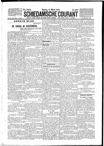 Schiedamsche Courant 1933-03-14