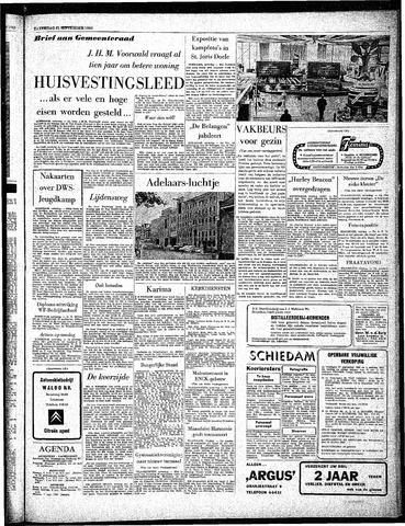 Rotterdamsch Parool / De Schiedammer 1963-09-21