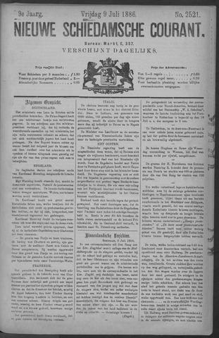 Nieuwe Schiedamsche Courant 1886-07-09