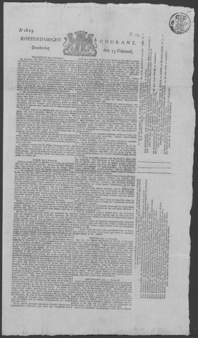 Rotterdamse Courant 1823-02-13