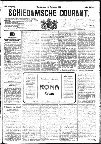 Schiedamsche Courant 1912-10-10
