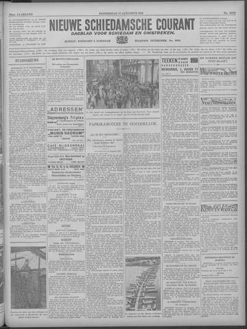 Nieuwe Schiedamsche Courant 1933-08-17