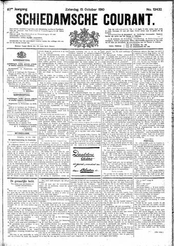 Schiedamsche Courant 1910-10-15