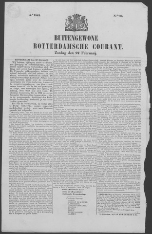 Rotterdamse Courant 1848-02-27