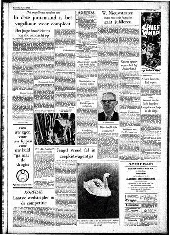 Rotterdamsch Parool / De Schiedammer 1961-06-07
