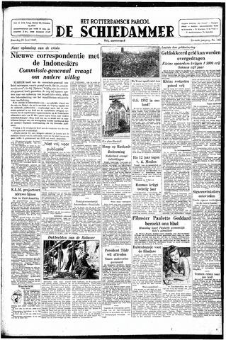 Rotterdamsch Parool / De Schiedammer 1947-06-21