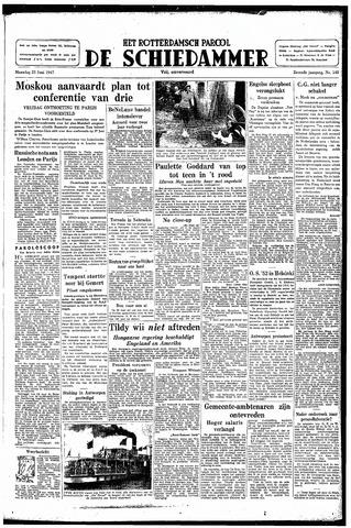Rotterdamsch Parool / De Schiedammer 1947-06-23
