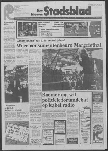 Het Nieuwe Stadsblad 1982-04-07
