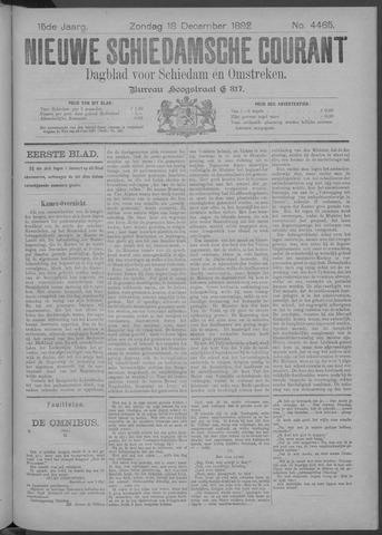 Nieuwe Schiedamsche Courant 1892-12-18