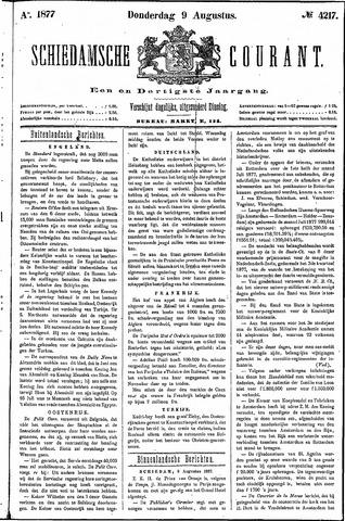 Schiedamsche Courant 1877-08-09