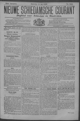 Nieuwe Schiedamsche Courant 1909-05-15