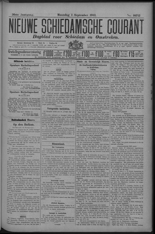 Nieuwe Schiedamsche Courant 1913-09-01