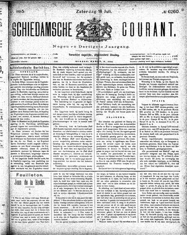 Schiedamsche Courant 1885-07-18
