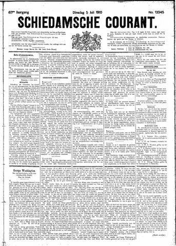 Schiedamsche Courant 1910-07-05