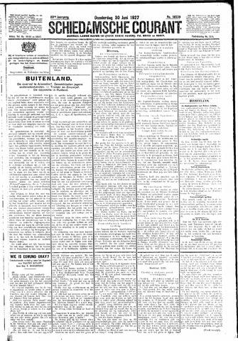 Schiedamsche Courant 1927-06-30