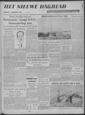 Nieuwe Schiedamsche Courant 1961-08-01