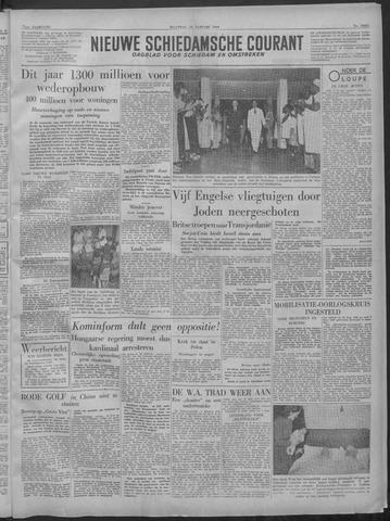 Nieuwe Schiedamsche Courant 1949-01-10