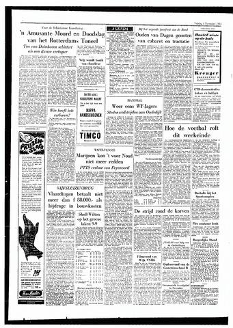 Rotterdamsch Parool / De Schiedammer 1955-11-04