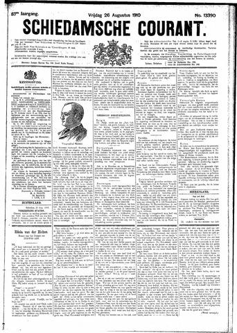 Schiedamsche Courant 1910-08-26