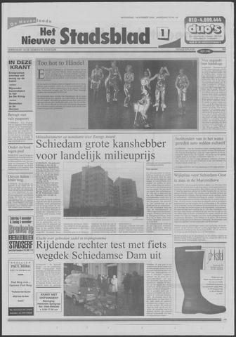 Het Nieuwe Stadsblad 2000-11-01