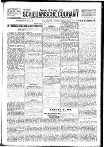Schiedamsche Courant 1929-11-13