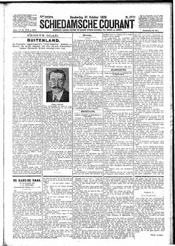 Schiedamsche Courant 1929-10-31