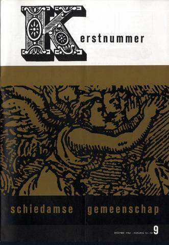 Schiedamse Gemeenschap (tijdschrift) 1961-12-01