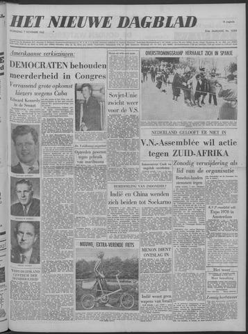 Nieuwe Schiedamsche Courant 1962-11-07