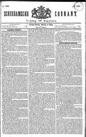 Schiedamsche Courant 1866-08-17