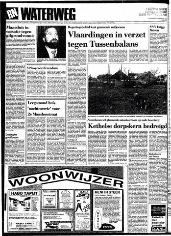 Rotterdamsch Nieuwsblad / Schiedamsche Courant / Rotterdams Dagblad / Waterweg / Algemeen Dagblad 1991-02-27