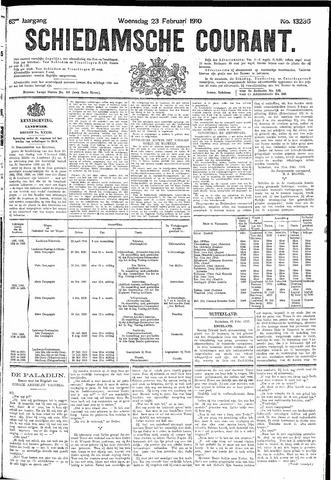 Schiedamsche Courant 1910-02-23