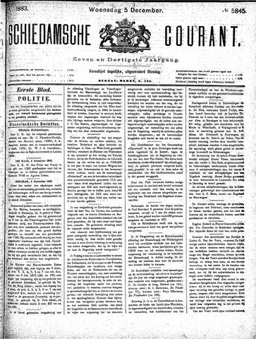 Schiedamsche Courant 1883-12-05