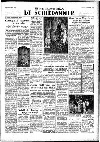 Rotterdamsch Parool / De Schiedammer 1949-04-30